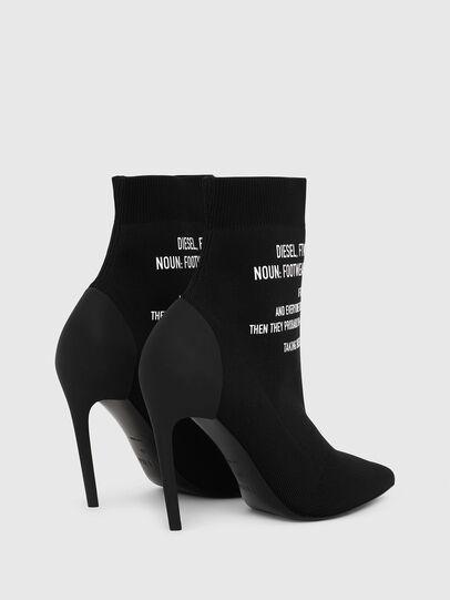 Diesel - D-SLANTY HAB, Black - Ankle Boots - Image 3
