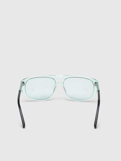 Diesel - DL0300, Light Blue - Sunglasses - Image 4