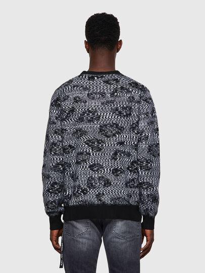 Diesel - K-AZOTIC, Black/Grey - Knitwear - Image 2