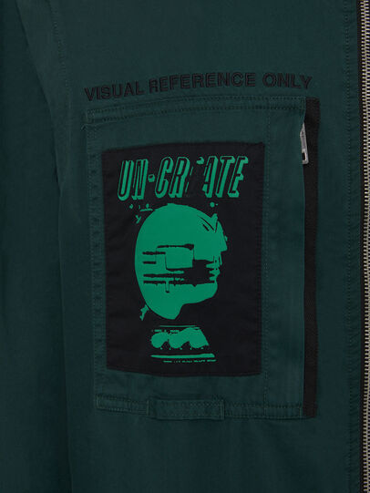 Diesel - P-LARRY, Dark Green - Pants - Image 6