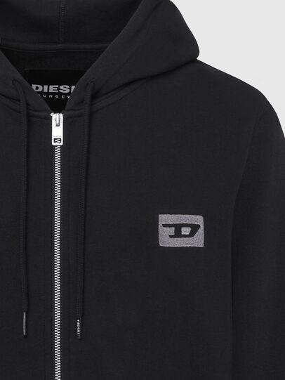Diesel - UMLT-BRANDON-Z, Black/Silver - Sweaters - Image 3
