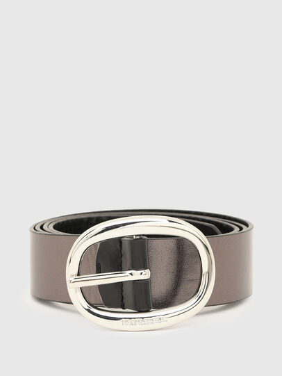 Diesel - B-ISIDE, Black/Grey - Belts - Image 4