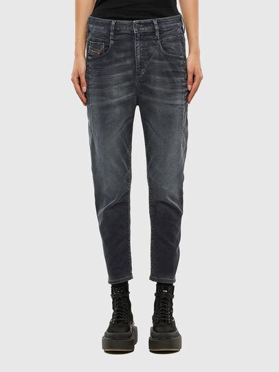 Diesel - FAYZA JoggJeans® 069QA, Black/Dark grey - Jeans - Image 1