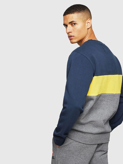 Diesel - UMLT-WILLY, Blue/Grey - Sweaters - Image 2