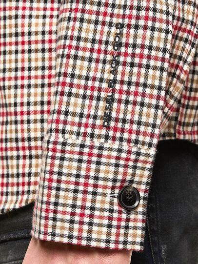Diesel - S-IDOL, Black/Red - Shirts - Image 5