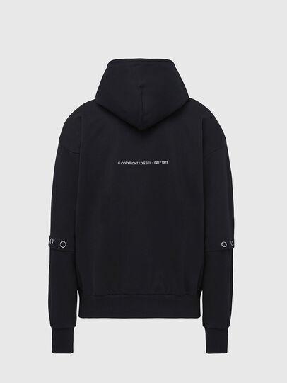 Diesel - S-ALBYBUT, Black - Sweaters - Image 2