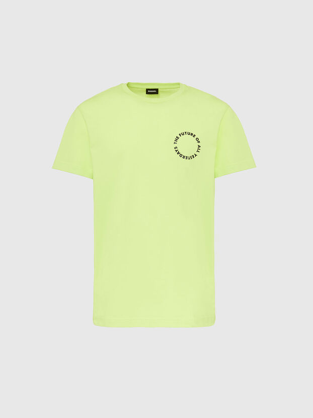 T-DIEGOS-X46, Green Fluo - T-Shirts