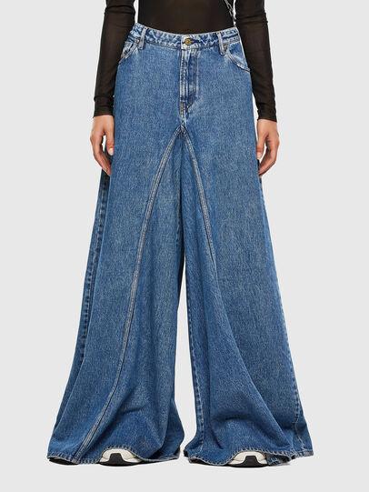 Diesel - D-Spritzz 009IJ, Medium blue - Jeans - Image 1