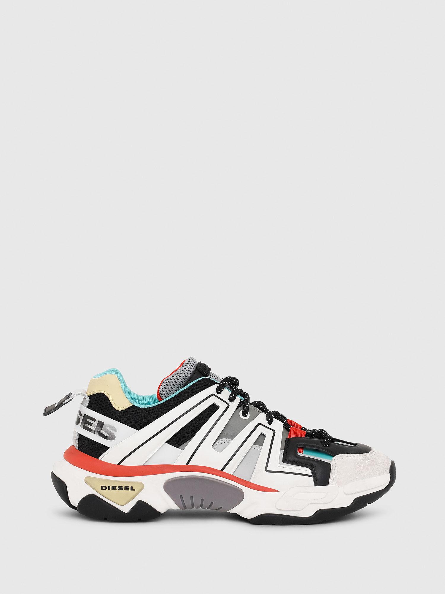S-KIPPER LOW TREK Men: Caged sneakers