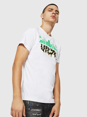 T-DIEGO-B12, White - T-Shirts