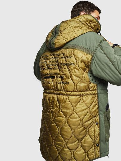 Diesel - W-KOVIK, Military Green - Winter Jackets - Image 2