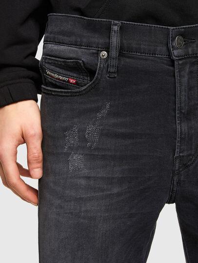 Diesel - D-Istort 069SB, Black/Dark grey - Jeans - Image 3