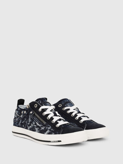 Diesel - EXPO-ZIP LOW W, Dark Blue - Sneakers - Image 2