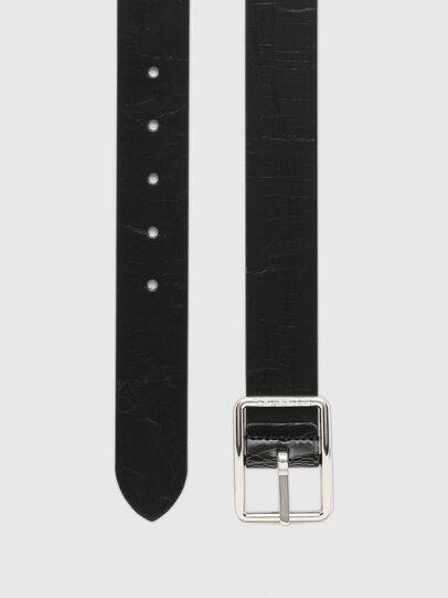 Diesel - B-PHOTO, Black/Brown - Belts - Image 3