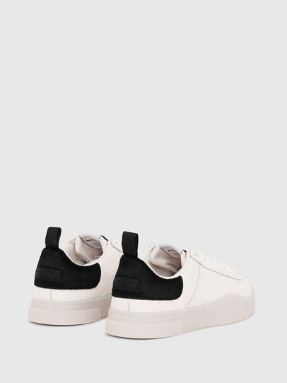 Diesel - S-CLEVER LOW LACE W, White/Black - Sneakers - Image 3