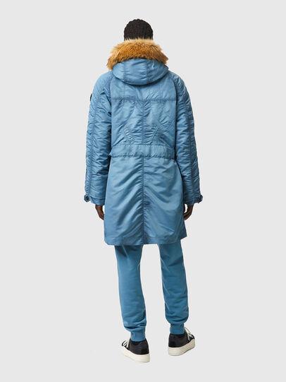 Diesel - W-CLAUD, Blue - Winter Jackets - Image 2