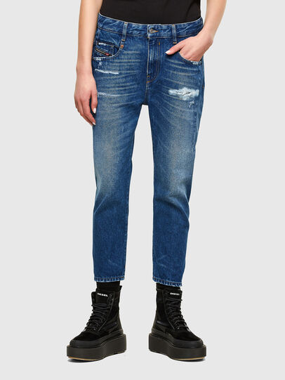Diesel - Fayza 0079R, Medium blue - Jeans - Image 1