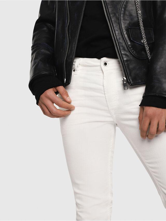 Diesel Sleenker 084CY, White - Jeans - Image 2