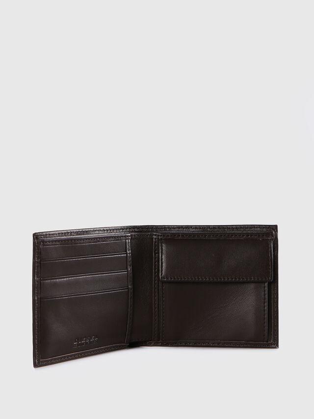 Diesel - HIRESH S, Dark Brown - Small Wallets - Image 3