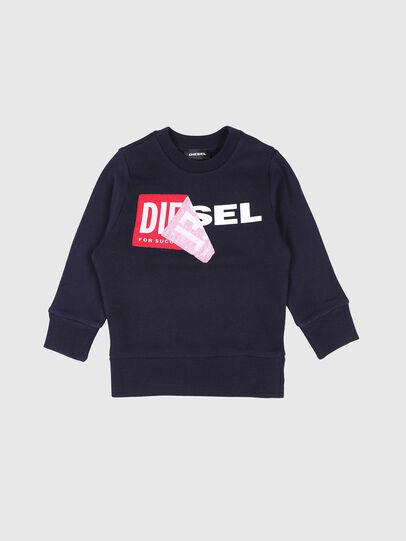 Diesel - SALLIB-R, Navy Blue - Sweaters - Image 1