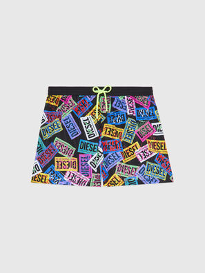 BMBX-WAVE 2.017, Multicolor - Swim shorts