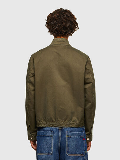 Diesel - J-HALLS-A, Military Green - Jackets - Image 2