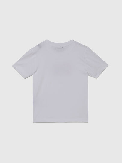 Diesel - TJUSTX62B-R, White - T-shirts and Tops - Image 2