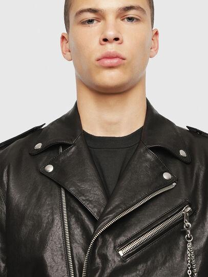 Diesel - SE-LEANDRO,  - Leather jackets - Image 5