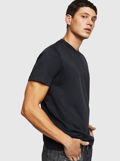 Diesel - T-THURE, Black - T-Shirts - Image 4