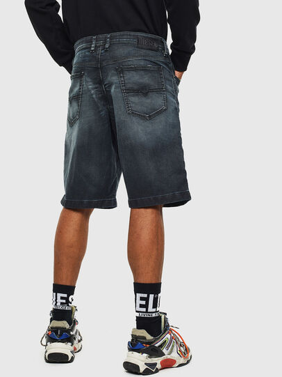 Diesel - D-WILLOH CB JOGGJEANS, Dark Blue - Shorts - Image 2
