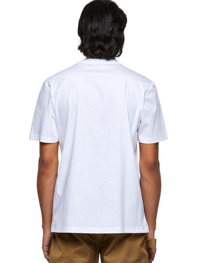 Diesel - T-JUSMER, White - T-Shirts - Image 2