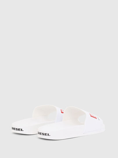 Diesel - SA-VALLA, White - Slippers - Image 3