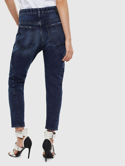 Diesel - Fayza 009BY, Dark Blue - Jeans - Image 2