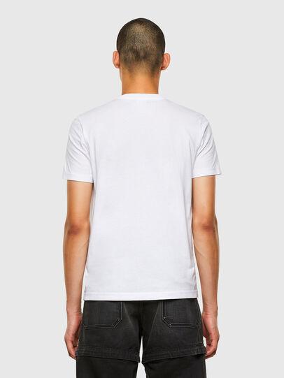 Diesel - T-DIEGOS-K36, White - T-Shirts - Image 2