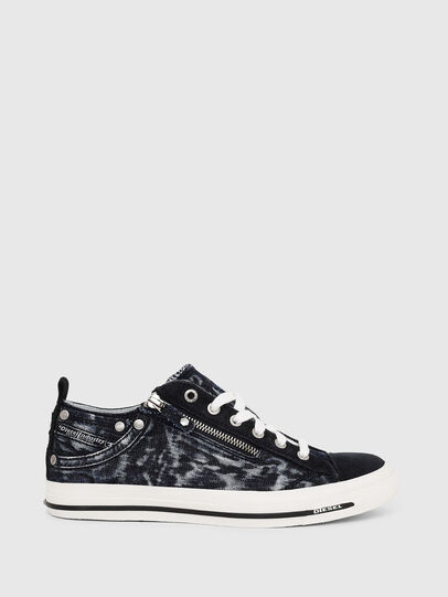 Diesel - EXPO-ZIP LOW W, Dark Blue - Sneakers - Image 1