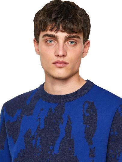 Diesel - K-TENNESSEE, Blue - Knitwear - Image 3