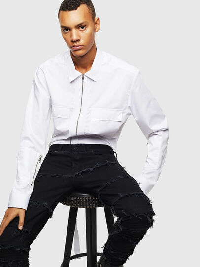 Diesel - S-PATCH-P, White - Shirts - Image 5