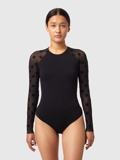 Diesel - UFBY-RIBEES, Black - Bodysuits - Image 1