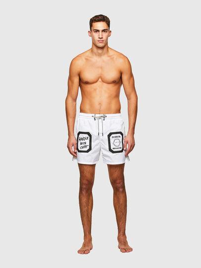 Diesel - BMBX-WAVE 2.017, White - Swim shorts - Image 1