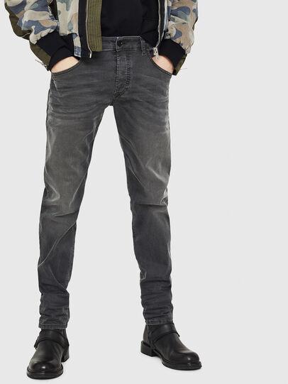Diesel - D-Bazer 0699P, Black - Jeans - Image 1