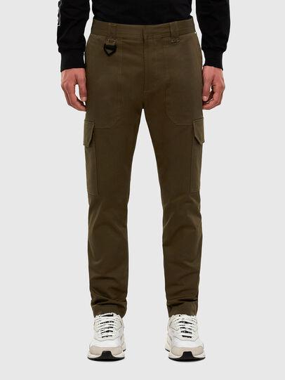 Diesel - P-BAKER-SLIM, Military Green - Pants - Image 1