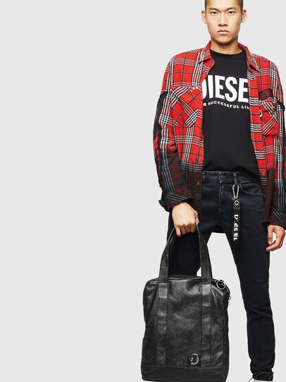 Diesel - ZAVIO, Black - Shopping and Shoulder Bags - Image 7