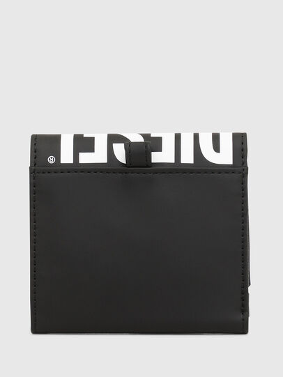 Diesel - YOSHINO LOOP II, Black - Small Wallets - Image 2