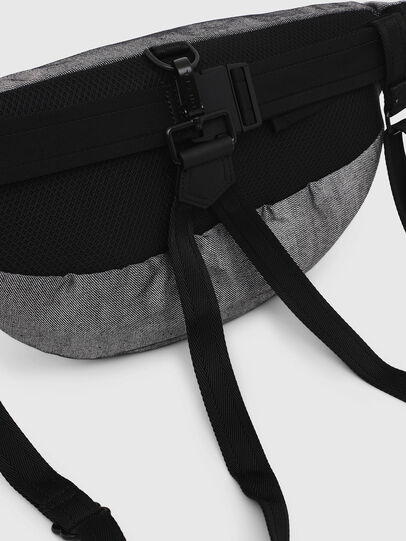 Diesel - TRIBELT, Gray/Black - Belt bags - Image 4
