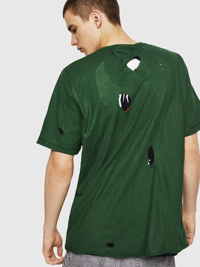 Diesel - T-JUST-LAY, Green - T-Shirts - Image 2