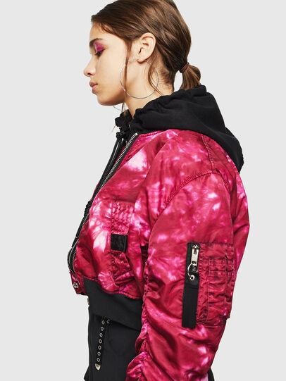 Diesel - G-IKAS, Pink - Jackets - Image 6