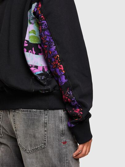Diesel - F-ALBYHOOKA-SID, Black - Sweaters - Image 3