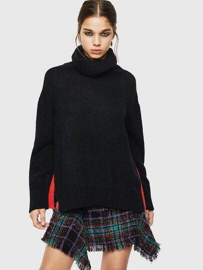 Diesel - M-PERSIA, Black - Knitwear - Image 1