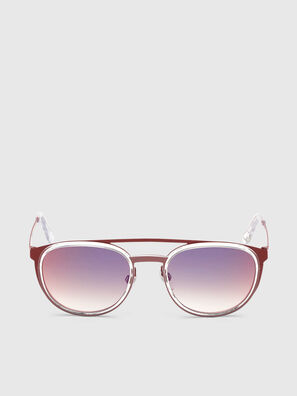 DL0293, Red/White - Sunglasses