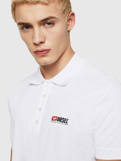 Diesel - T-WEET-DIV, White - Polos - Image 3